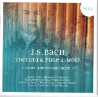 J.S. Bach, Toccata and Fuge d-Minor BWV 565 Vol. 2