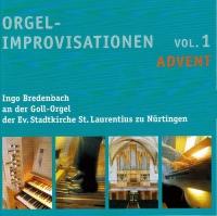 Orgelimprovisationen zum Kirchenjahr - Vol. 1
