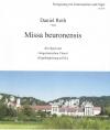 Noten: Daniel Roth, Missa beuronensis